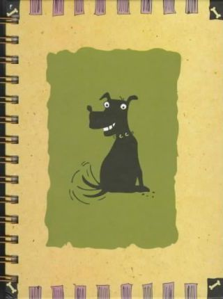 Tdb Sarah/Flower Dog-Spiral Journal