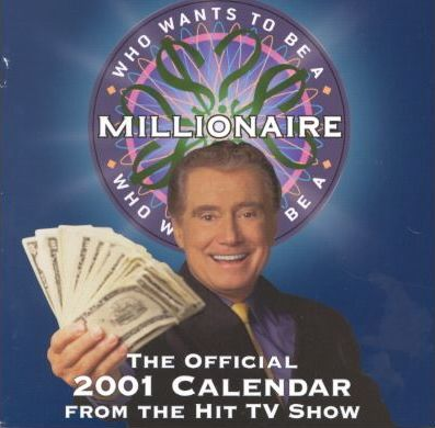 Who Wants to Be a Millionaire Official 2001 Calendar