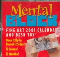 Fine Art Mental Block 2001 Calendar and Desk Toy