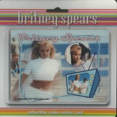 Sometimes Video Motion Card Britney Spears
