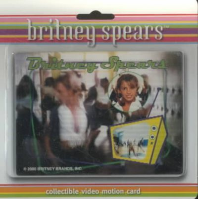 Baby... One More Time Video Motion Card Britney Spears