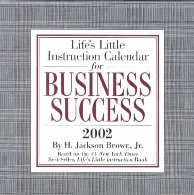 Life's Little Instruction for Business Success