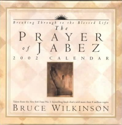 The Prayer of Jabez Day-To-Day Calendar