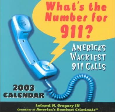 What's the Number for 911? Calendar