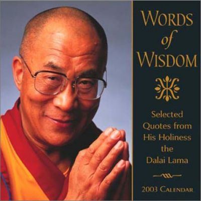 Words of Wisdom 2003 Calendar