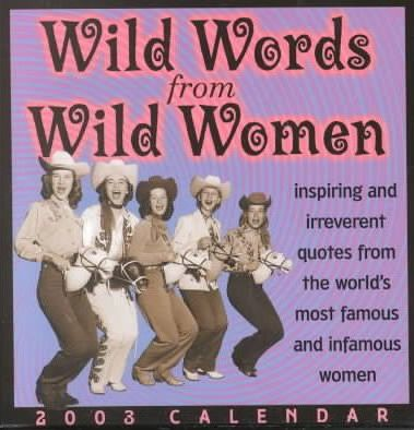 Wild Words from Wild Women Calendar