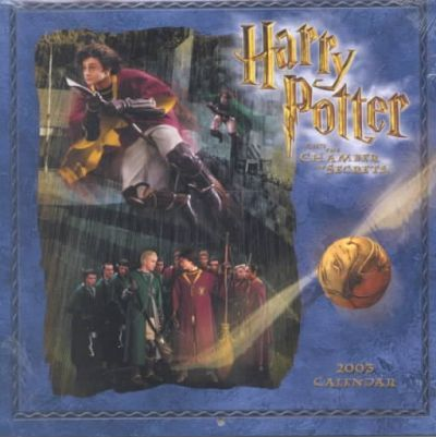 Harry Potter and the Chamber of Secrets Calendar