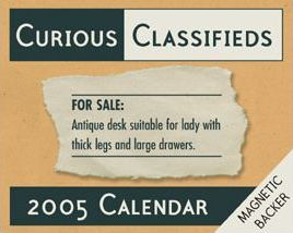 Curious Classified Ads