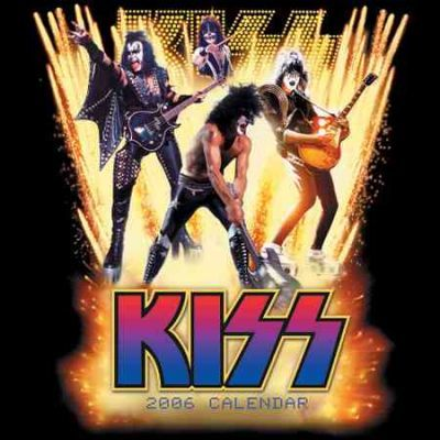 Official Kiss Calendar 2006