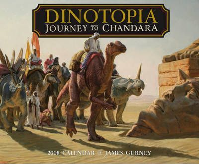 Dinotopia: Journey to Chandara 2008 Wall Calendar