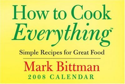How to Cook Everything Calendar