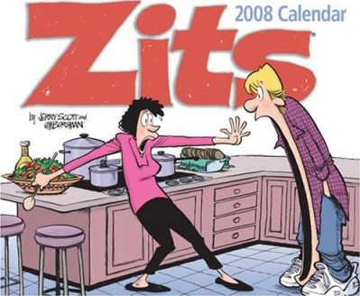 Zits 2008 Day-To-Day Calendar