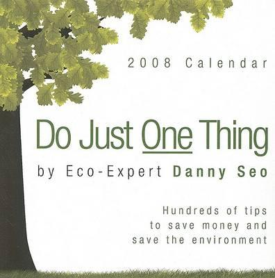 Do Just One Thing Calendar