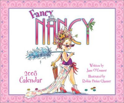 Fancy Nancy 2008 Wall Calendar