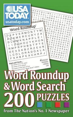 USA Today Word Roundup and Word Search  200 Puzzles from the Nation's No. 1 Newspaper