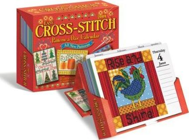 Easy Cross-Stitch Pattern-A-Day Calendar