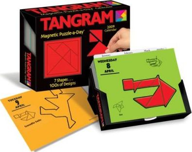 Tangram Magnetic Puzzle-A-Day Calendar