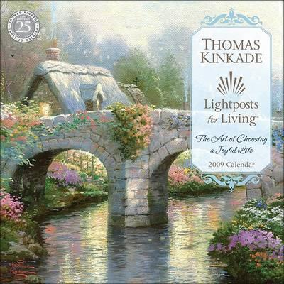 Thomas Kinkade Lightposts for Living Calendar