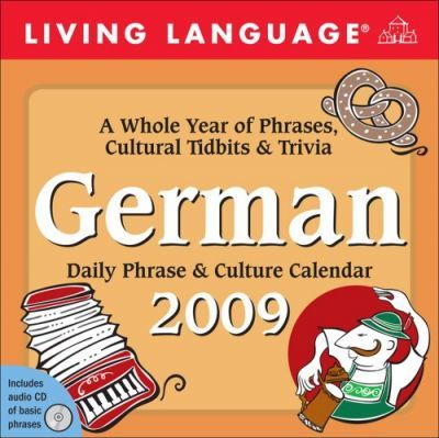 Living Language German, Daily Phrase & Culture Calendar