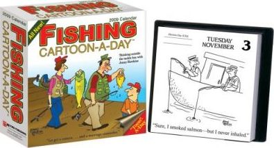 Fishing Cartoon-A-Day Calendar