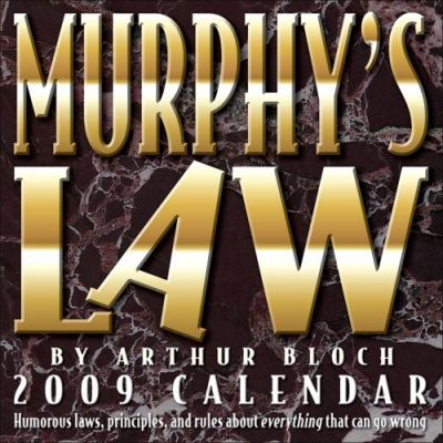 Murphy's Law 2009 Day-to-day Calendar