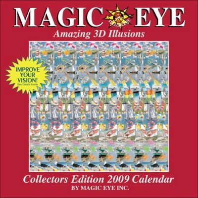 Magic Eye Amazing 3D Illusions Calendar