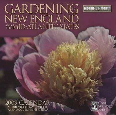 Gardening in New England and the Mid-Atlantic States Calendar