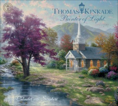 Kinkade Painter of Light with Scripture 2010 Wall