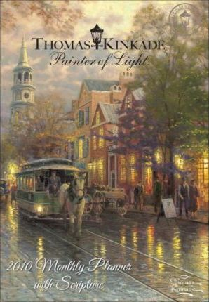 Kinkade Painter of Light with Scripture 2010 Pocket Planner