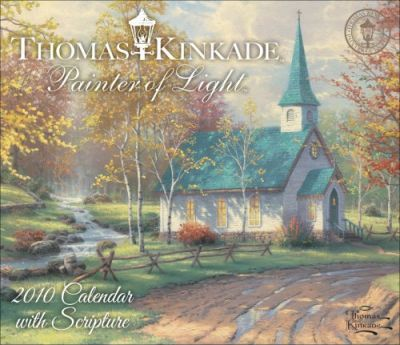Kinkade Painter of Light with Scripture 2010 Dtd