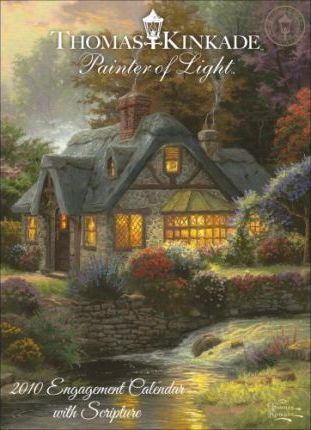 Kinkade Painter of Light with Scripture 2010 D