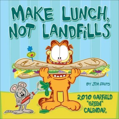 Garfield - Make Lunch 2010 Wall