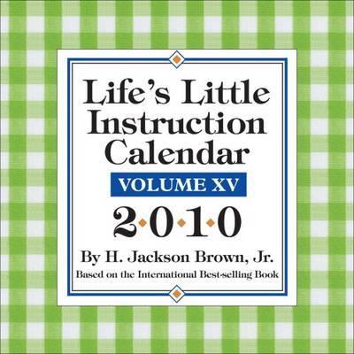 Life's Little Instruction Calendar 2010 Dtd