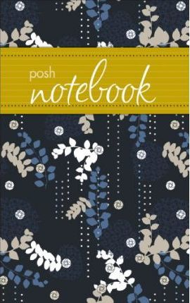 Posh Notebook (Blue Leaves)