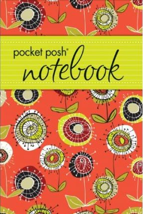 Pocket Posh Notebook (Red Spiky Flowers)