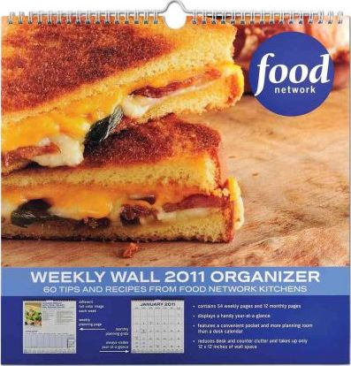 Food Network Weekly Wall Organizer