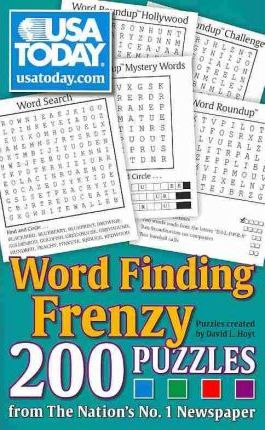 USA Today Word Finding Frenzy