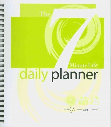 7 Minute Life Daily Planner 2011 Desk Diary
