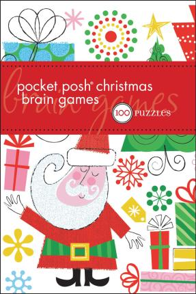 Pocket Posh Christmas Brain Games
