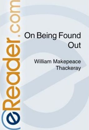 On Being Found Out