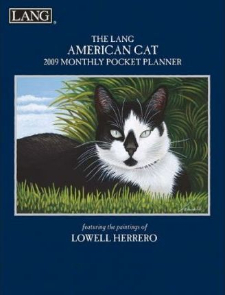 The Lang American Cat 2009 Monthly Pocket Planner