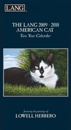The LANG 2009-2010 American Cat, Two Year Calendar