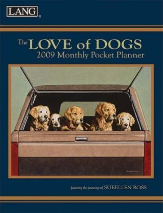 The Love of Dogs 2009 Monthly Pocket Planner