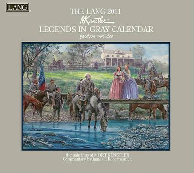 The Lang Legends in Gray Calendar