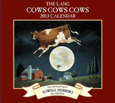 The Lang Cows Cows Cows Calendar