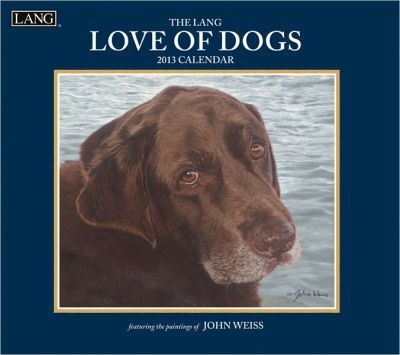 The Lang Love of Dogs Calendar 2013