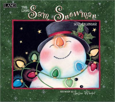 The Lang Sam Snowman 2013 Calendar