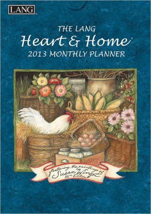 The Lang Heart & Home Engagement Planner 2013