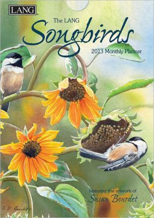 The Lang Songbirds 2013 Monthly Planner