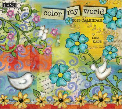 Color My World 2013 Calendar